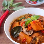 Thai Pumpkin Mushroom Red Curry